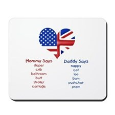 British American Translations Mousepad