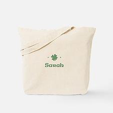 """Shamrock - Sarah"" Tote Bag"