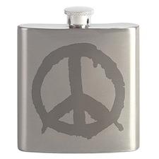 peaceSign01C Flask