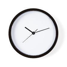 peaceSign01B Wall Clock