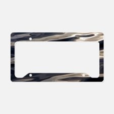 water at sunset.bagpng License Plate Holder