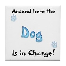 Dog Charge Tile Coaster