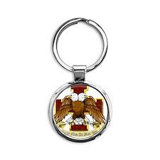 Scottish Rite Round Keychain