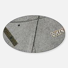 KQ12.125x6.125 Sticker (Oval)