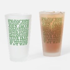 Gus Names Drinking Glass