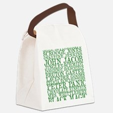 Gus Names Canvas Lunch Bag