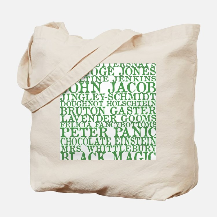 Gus Names Tote Bag