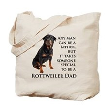 Rottie Dad Tote Bag