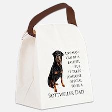 Rottie Dad Canvas Lunch Bag
