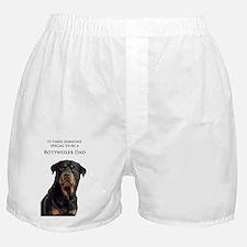 Rottie Dad Boxer Shorts