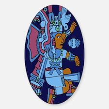 Xiuhtecuhtli Aztec God of Water 23  Decal