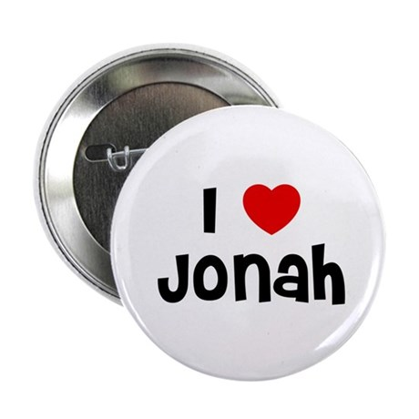 """I * Jonah 2.25"""" Button (10 pack)"""