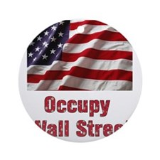 occupy Round Ornament
