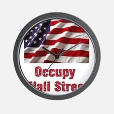 occupy Wall Clock