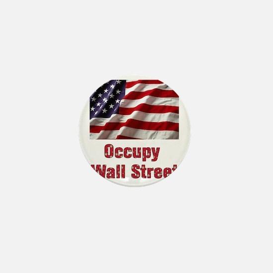 occupy Mini Button