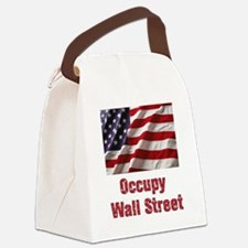 occupy Canvas Lunch Bag