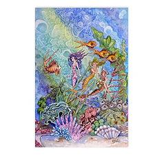 Mermaids Postcards (Package of 8)