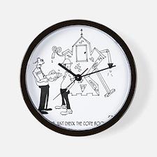 6154_inspector_cartoon Wall Clock