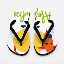 Alejandra-the-goat Flip Flops