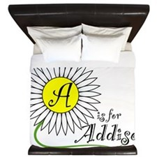 A is for Addison King Duvet