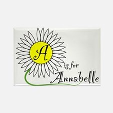 A is for Annabelle Rectangle Magnet