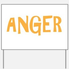 ANGERdrk Yard Sign