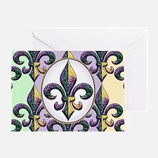 FleurMGbdsOpcMiniW Greeting Card