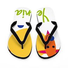 Yesenia-the-goat Flip Flops