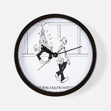 6153_inspector_cartoon Wall Clock