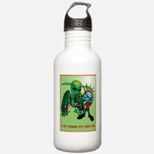 Moth-Man-Shirt Water Bottle