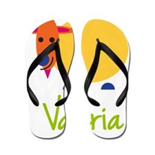 Valeria-the-goat Flip Flops