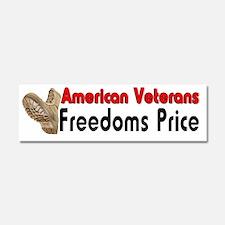 Americans Veterans 4 Car Magnet 10 x 3