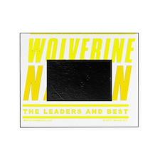 WolverineNationStackLeadersMaize1 Picture Frame