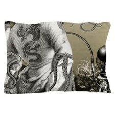 The Cthulhu Crush II by Bethalynne Baj Pillow Case