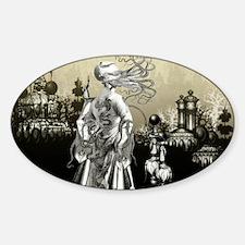 The Cthulhu Crush II by Bethalynne  Sticker (Oval)