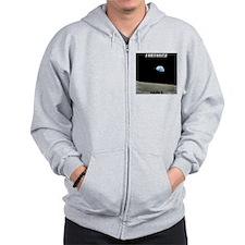 Earthrise Shirt Zip Hoodie