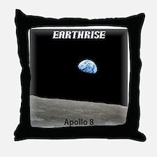 Earthrise Shirt Throw Pillow