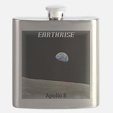 Earthrise Shirt Flask