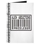Alien Abduction Priceless Barcode Journal