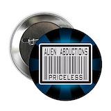 Alien abduction buttons Buttons