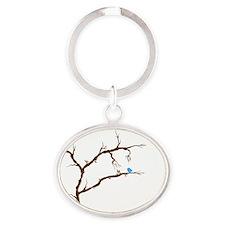 songbird Oval Keychain