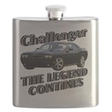 Dodge challenger Flask Bottles