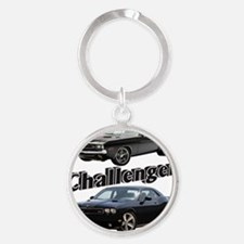 AD31 CP-MOUSE Round Keychain