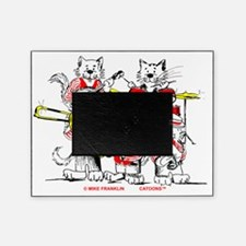 Jazz Cats Trans Back Picture Frame