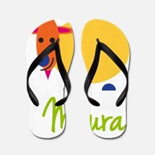 Maura-the-goat Flip Flops