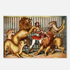 Lion-Tamer-14b10 Postcards (Package of 8)