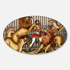 Lion-Tamer-14b10 Sticker (Oval)