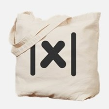 Absolute-Value-Math Tote Bag