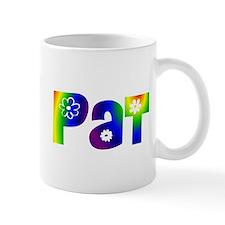 'PAT' Flower Power Mug