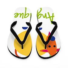 Angelique-the-goat Flip Flops